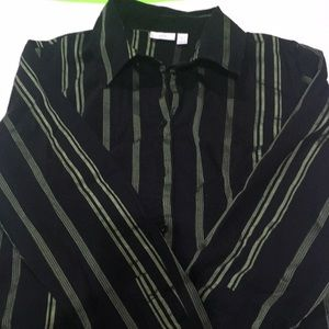 Apt 9 long sleeve button up blouse